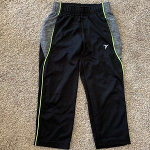 Old Navy Boys Active Sweatpants w/ Neon Detail